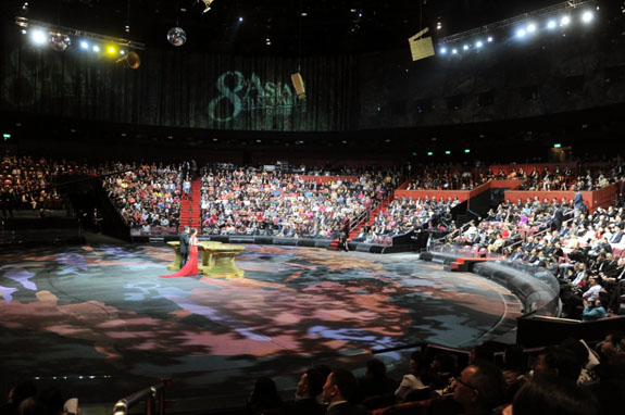 The 8th Asian Film Awards ceremony was held at the House of Dancing Water Theatre at the City of Dreams, Macau.jpg