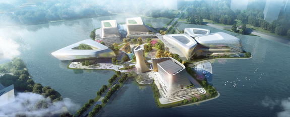 Zhuhai Jinwan Aviation Civic Cultural Center